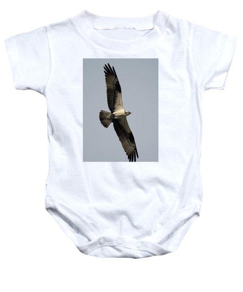 Osprey With Fish Baby Onesie