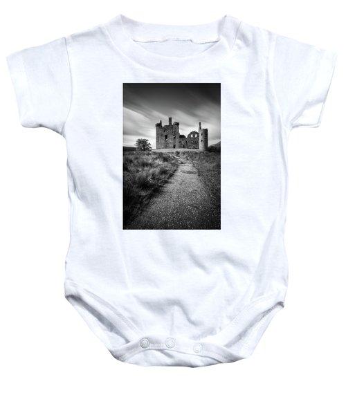 Path To Kilchurn Castle Baby Onesie