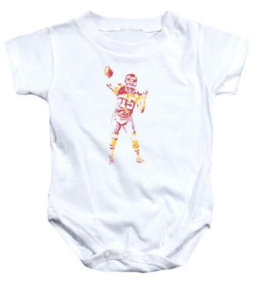 Patrick Mahomes Kansas City Chiefs Apparel T Shirt Pixel Art 2 Baby Onesie
