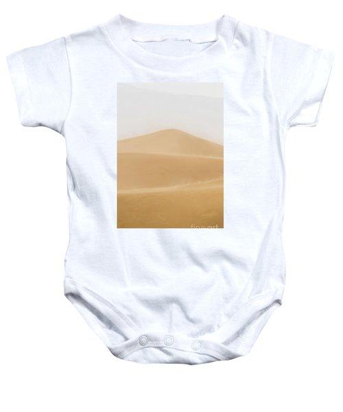 Patterned Desert Baby Onesie