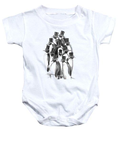 Penguin Party Baby Onesie