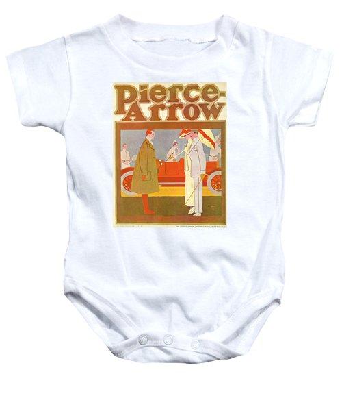 Pierce-arrow Advertisement Baby Onesie