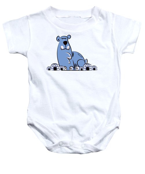 Polar King Baby Onesie