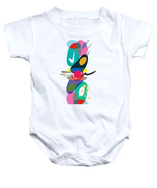 Positive Colors Building Baby Onesie