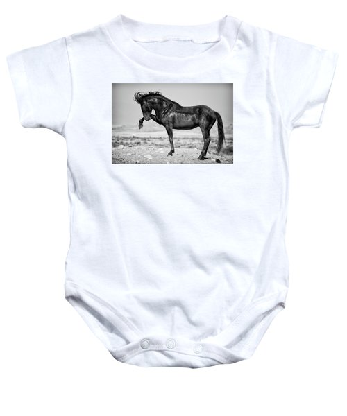 Baby Onesie featuring the photograph Power And Beauty by Mary Hone