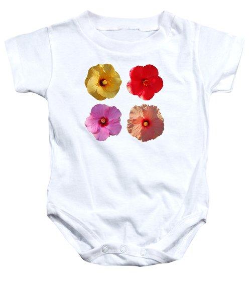 Power Flower Baby Onesie