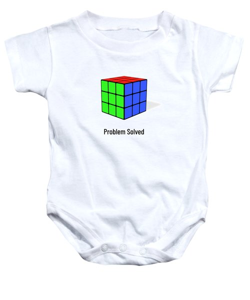 Problem Solved Baby Onesie