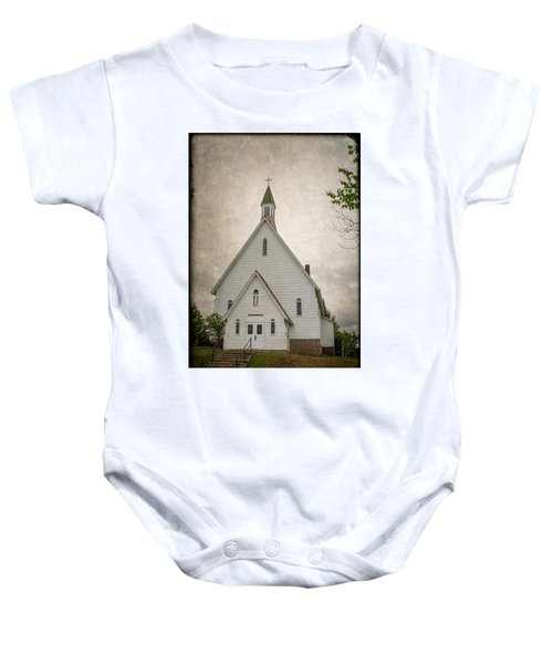 Raquette Lake Chapel Baby Onesie