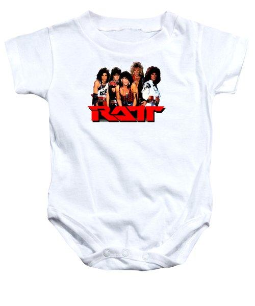 Ratt Band Baby Onesie