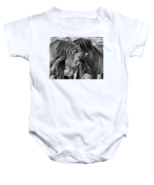 Baby Onesie featuring the photograph Raw by Mary Hone