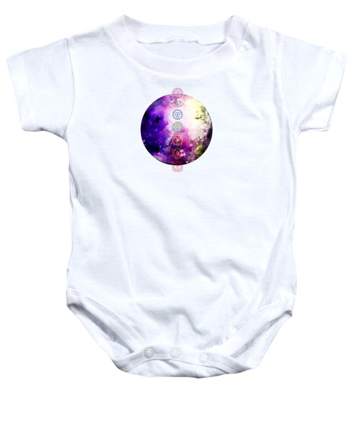 Reach Out To The Stars Baby Onesie