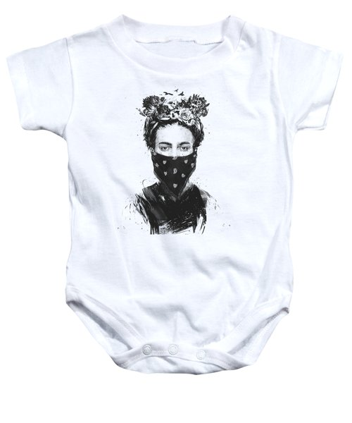 Rebel Girl Baby Onesie