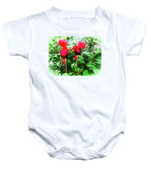 Red Candies Baby Onesie