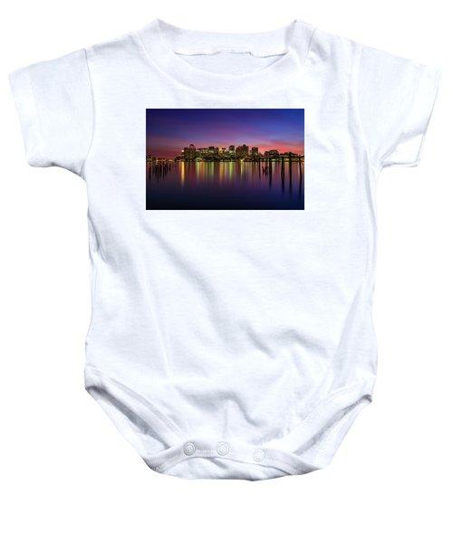 Reflections Of Boston II Baby Onesie