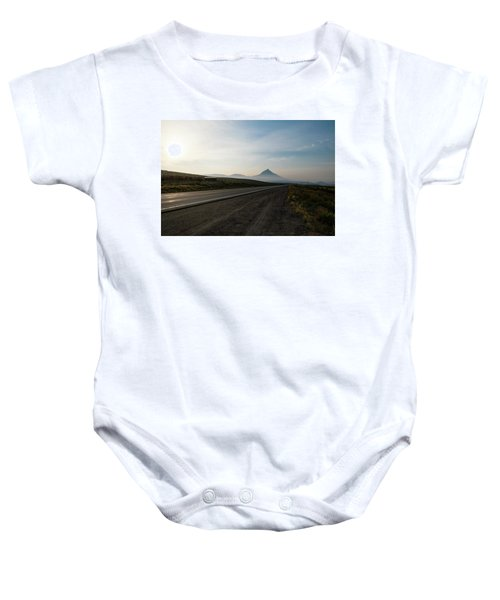 Road Through The Rockies Baby Onesie