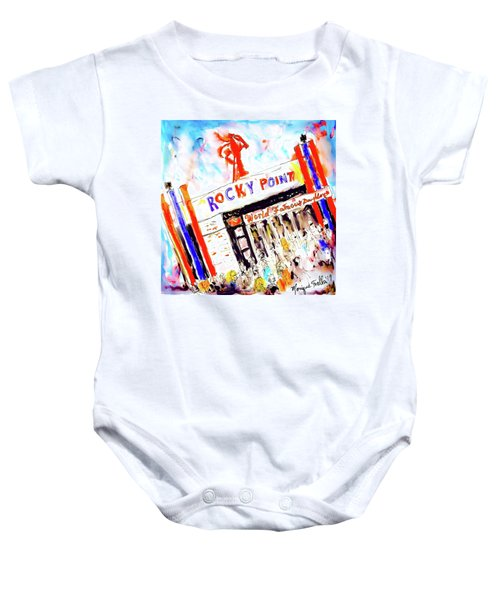 Rocky Point Chowder House Baby Onesie