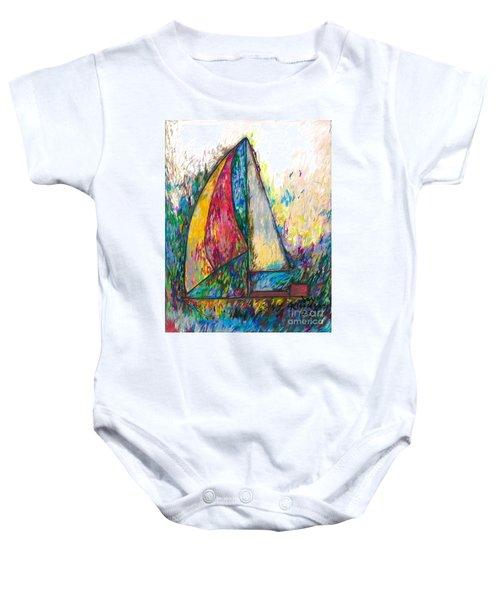 Rough Sailing Baby Onesie