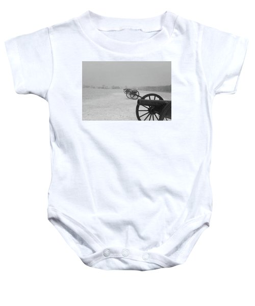 Row Of Cannon Baby Onesie