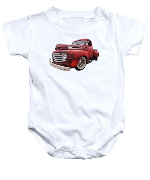 Rusty Jewel - 1948 Ford Baby Onesie
