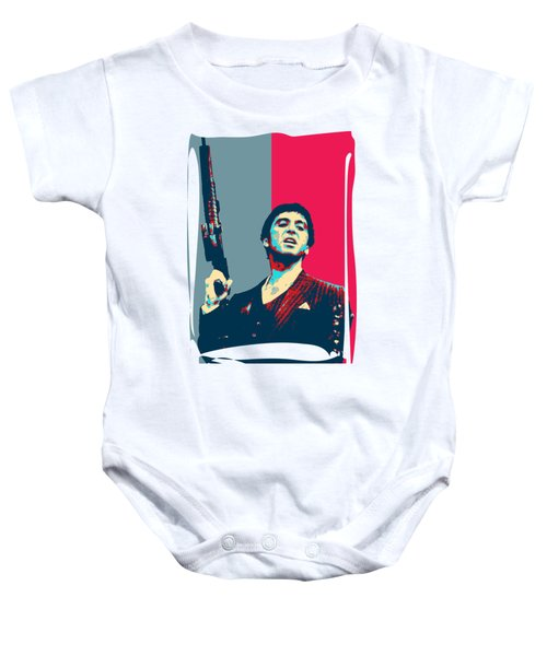 Tony Montana Baby Onesies Pixels