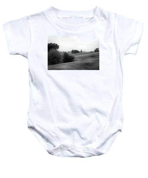Shaker Field Baby Onesie