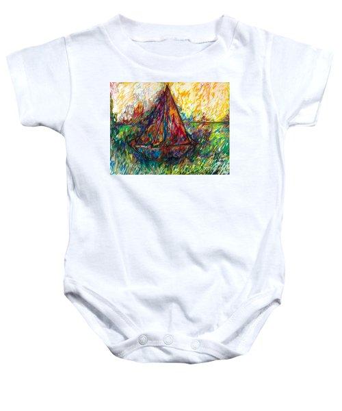 Ship In Color Baby Onesie