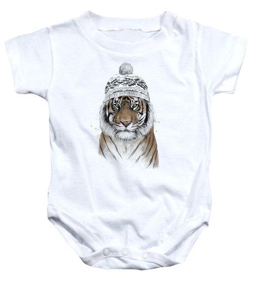 Siberian Tiger Baby Onesie