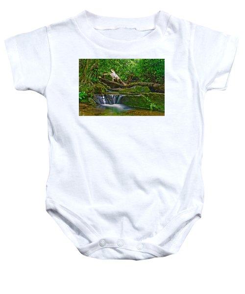 Sims Creek Waterfall Baby Onesie