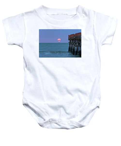 Snow Moon Baby Onesie