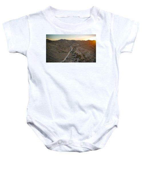 South Mountain Canyon Baby Onesie
