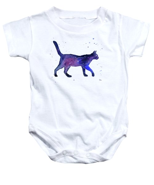 Space Cat Baby Onesie