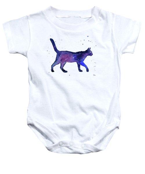 Space Cat Baby Onesie