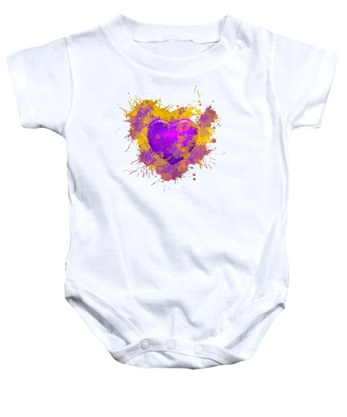 Stain Lakers Baby Onesie