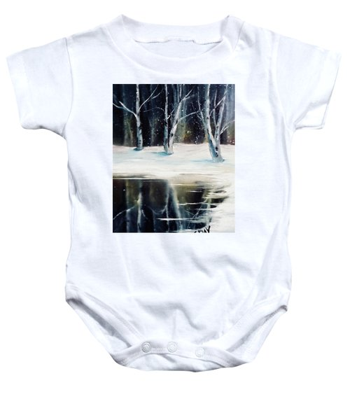 Still Winter Baby Onesie