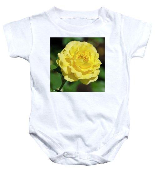 Striking In Yellow Baby Onesie