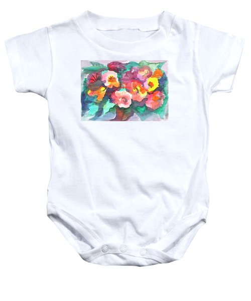Summer Bouquet Baby Onesie