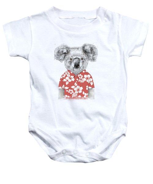 Summer Koala Baby Onesie