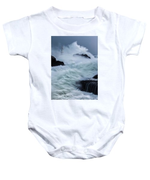 Swallowed By The Sea Baby Onesie
