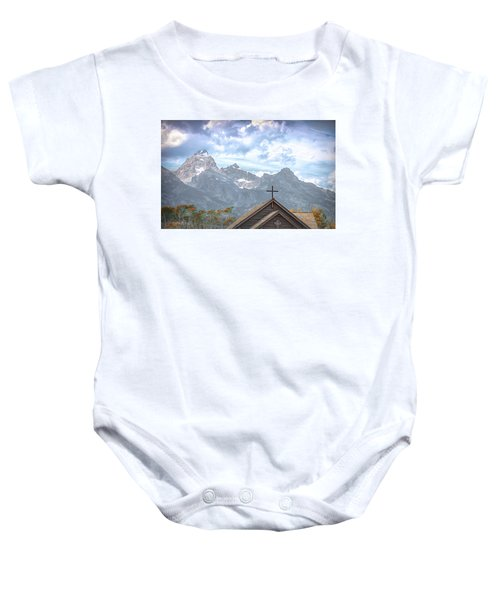 Teton Peace Baby Onesie