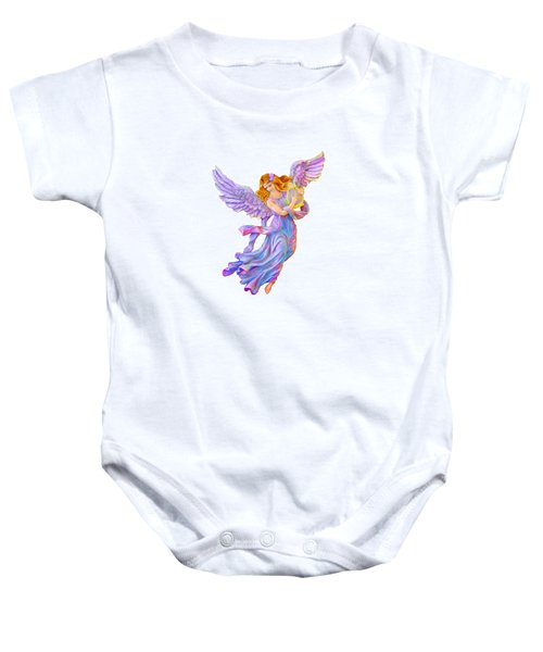 The Antique Angel Muse - Love Of Poetry Baby Onesie