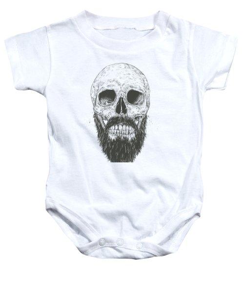 The Beard Is Not Dead Baby Onesie