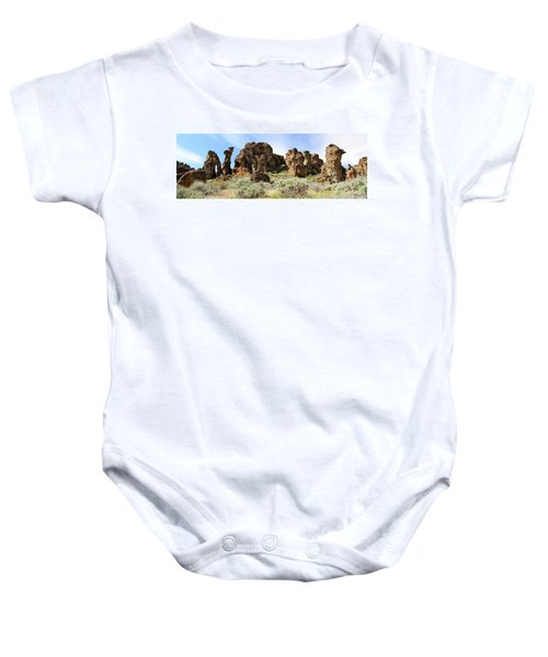 Arches Hoodoos And Castles The Big Picture Little City Of Rocks Baby Onesie