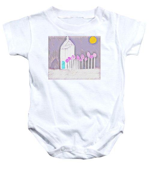 The Chapel Baby Onesie