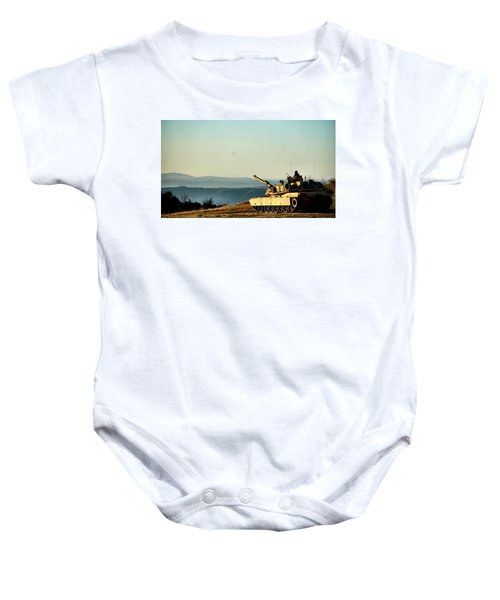 The Long Road Home Baby Onesie