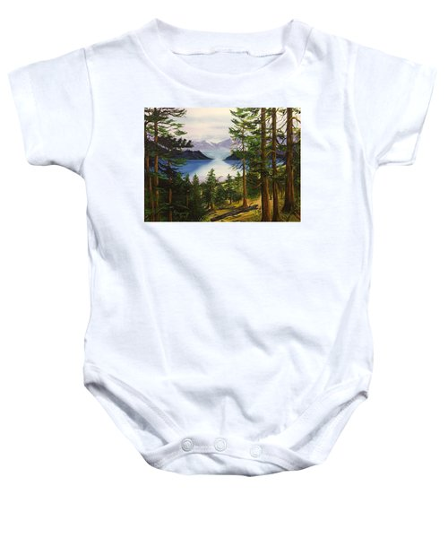 The Narrows  Baby Onesie