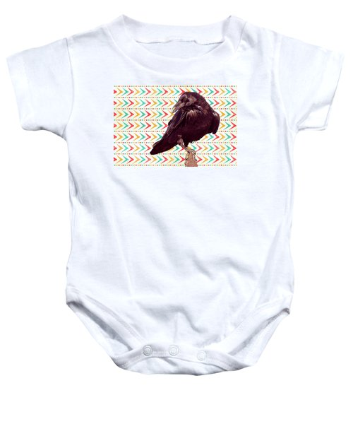 Baby Onesie featuring the photograph The Poser by Mary Hone
