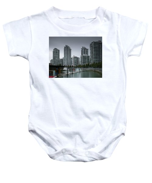 The Quayside Marina - Yaletown Apartments Vancouver Baby Onesie