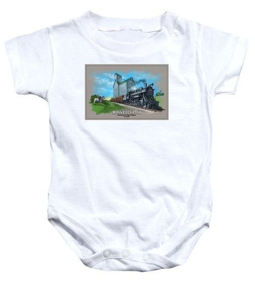 The Ross Elevator Sentinel Of The Plains Baby Onesie