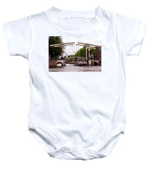 The Skinny Bridge Amsterdam Baby Onesie