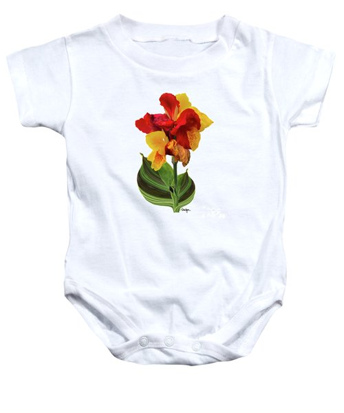 Tropical Bouquet-flower Two Baby Onesie